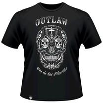 Camisa Chicana Rap Outlaw Dia Dos Mortos