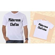Kit Camisetas Tal Pai, Tal Filho