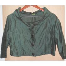 Espaço Fashion: Casaquinho Tipo Bolero Verde ¿ P