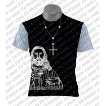 Camiseta Católica - Terço - Cristo
