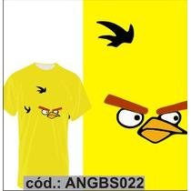 Blusa Camisa Camiseta Personalizada Sublimação Angrybirds 22