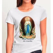 Camisetas Religiosas Nossa Senhora De Lourdes