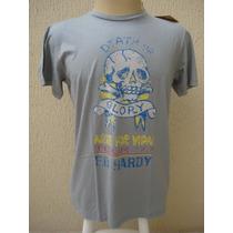 Camiseta Christian Audigier Tam G Original E Frete Grátis
