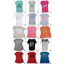 Camiseta Aeropostale Feminina Original Variadas