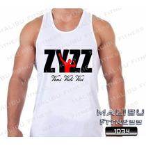 Regata Academia Zyzz Musculação Maromba Treina