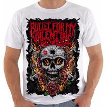 Camisa Camiseta Baby Look Regata Bullet For My Valentine