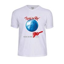 Camisas Camisetas Rock In Rio 30 Anos Cantor Banda Pop Rap