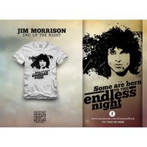Camiseta Sonetos Rock Masculina Jim Morrison