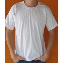 Camiseta Manga Curta Lisa Malha Promocional