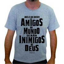 Camiseta Evangélica I Gospel I Cristã I Religiosas I Jovem