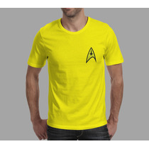 Camiseta Bordada Star Trek