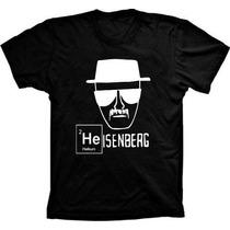 Camiseta Breaking Bad 100% Algodão Estampa De Qualidade !