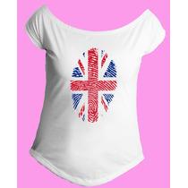 Camiseta Feminina G. Canoa Inglaterra Reino Unido Londres 15