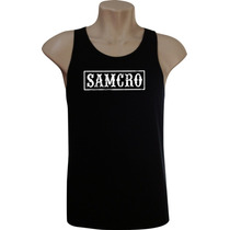 Camiseta Regata Masculina Sons Of Anarchy Séries Bandas Rock