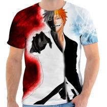 Camiseta Camisa Masculina Anime Otaku - Bleach 01