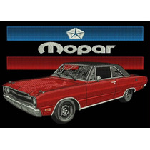 Camisa Polo Bordada Mopar Dodge Dart
