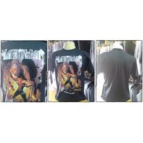 Camiseta Banda Manowar G C/ Nota Fiscal