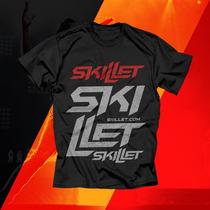 Camiseta Skillet - Gospel Rock Metal Cristão