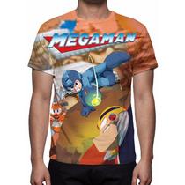 Camisa, Camiseta Game Megaman - Estampa Total