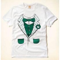 Camiseta Hollister Original Masculina A Pronta Entrega