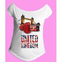 Camiseta Feminina G. Canoa Inglaterra Reino Unido Londres 08