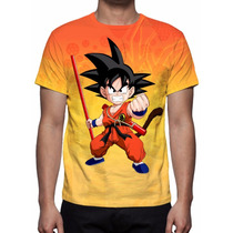 Camisa, Camiseta Anime Dragon Ball Z - Son Goten