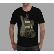 Camisetas Guitarra, Fender Jaguar Instrumento Musical