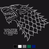 Camisa Game Of Thrones: Stark Winter Is Coming, 100% Algodão