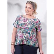 Blusa Plus Size Feminina ( Roupa Tamanhos Grandes )