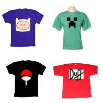 Camisas Engraçadas,super Heróis,personalizadas,bandas