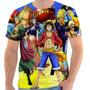 Camiseta Camisa Masculina Otaku Anime Serie - One Piece 01
