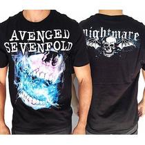 Camiseta De Banda - Avenged Sevenfold - Nightmare 2