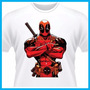 Camiseta Deadpool, Cinema, Marvel, Justiceiro, Divertida, Ou