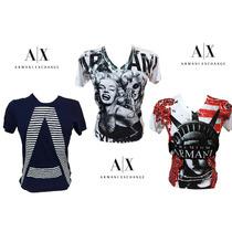 Camisetas Armani Exchange 100%original