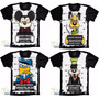 Camiseta Mickey Bad Pluto Pateta Donald Preso Mal Camisa Bad