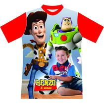 Toy Story Camiseta Personalizada Aniversário Minions Temas