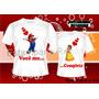 Kit Camisetas Personalizadas Dia Dos Namorados - Amor, Casal