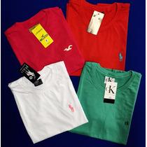 Kit C/ 10 Camisa Masculina Abercrombie Hollister Armani