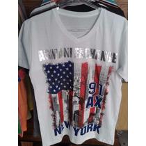 Camisetas Armani Exchange Ax Original Atacado Kit 3 Peças