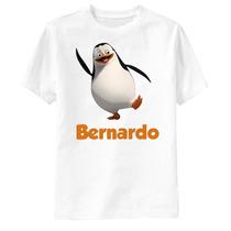 Camiseta Os Pinguins De Madagascar Personalizada Recruta
