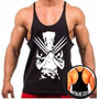 Camiseta Camisa Cavada Academia Musculação Malhar Wolverine