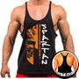 Camiseta Regata Cavada Masculina Academia Musculação Malhar