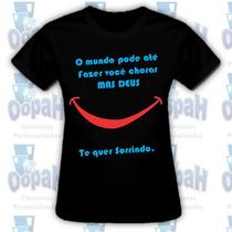 Camiseta Personalizada Evangelica Promoção Frete Grátis