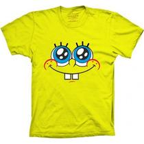 Camiseta Bob Esponja Camisa Bob Esponja