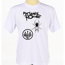 Camiseta Camisa Banda De Rock My Chemical Romance