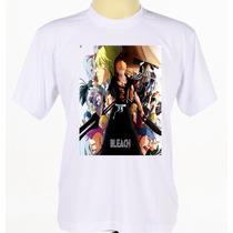 Camisa Camiseta Personalizada Anime Bleach Ichigo Kurosaki