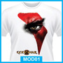 Camisetas God Of War, Games, Playstation 2, 3, 4, Pc, Jogo