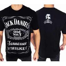 Camiseta Jack Daniels ( Original Consulado Do Rock)