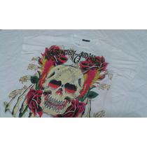 Camiseta Christian Audigier Original Los Angeles Tam M