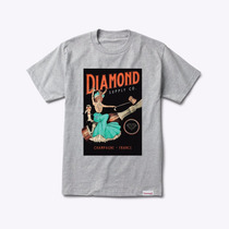Camiseta Diamond Supply Co Champagne France Tee Skate Import